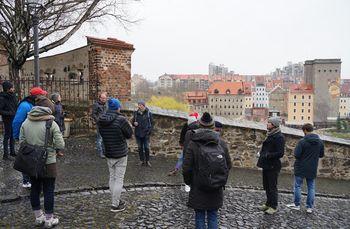 Exkursionsgruppe in der Görlitzer Altstadt