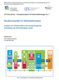 Cover Policy Brief Nr. 7